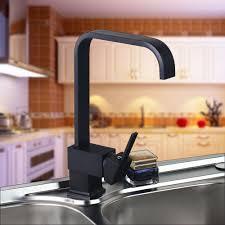 Oil Rubbed Bronze Kitchen Sink Faucet Single Handle Oil Rubbed Bronze Kitchen Sink Faucet 8520 1 Black