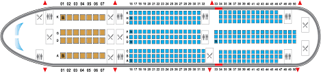A330 300 Seat Map B787 2 Png
