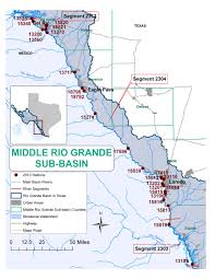 Colorado River Texas Map by Texas Clean Rivers Program Study Area
