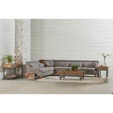 Joanna Gaines Products Three Piece Chisel Sectional Sofa By Magnolia Home By Joanna
