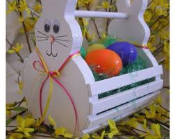 easter bunny baskets easter bunny basket etsy
