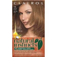 light golden brown hair color clairol natural instincts semi permanent hair color lightest