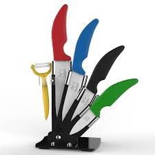ceramic kitchen knives set ceramic knife set u2013 chef u0027s organic gadgets