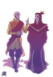 avatar aang and fire lord zuko the dweebs being all bff and