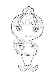lalaloopsy coloring page good 448