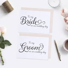 Groom To Bride Card To My Bride Card And To My Groom Card Elegant Dazzling Daisies