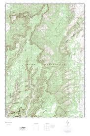 Arizona Topographic Map by Mytopo Keet Seel Ruin Arizona Usgs Quad Topo Map