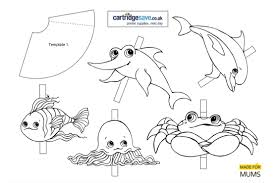 finding dory themed printable finger puppets madeformums
