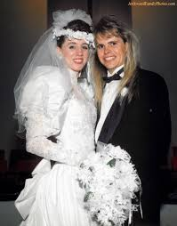 80s wedding band i now pronounce you mullet and they shared the same hair and