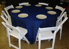 tablecloth for round table that seats 8 university rental nacogdoches party wedding rentals