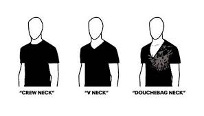 Protip Meme - a guide to neckline styles for men protip know your meme