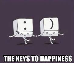 Happiness Meme - two keys for happiness meme guy