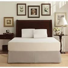crown comfort 8 inch twin size bed frame and memory foam mattress