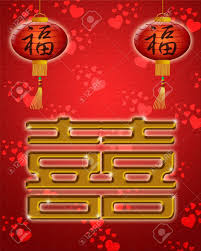 wedding wishes in mandarin wedding happiness symbol with lanterns on