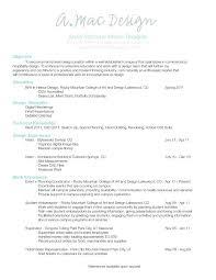 interior designer resume sample pdf examples graphic design senior