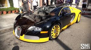 bugatti gold and black world famous bijan bugatti veyron in los angeles youtube