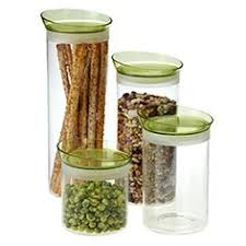 glass kitchen canisters airtight stackable square glass canisters apartment things