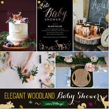 woodland themed baby shower woodland themed baby shower inspiration for fall
