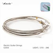 light electric guitar strings amola strings e2050 electric guitar strings with coating great tone
