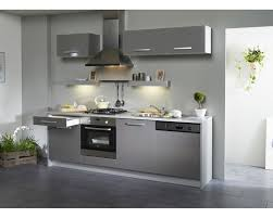 cuisine gris laqué cuisine equipee grise laquee