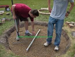 step how to build a simple backyard fire pit u2013 modern garden