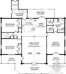log home floor plans with garage floor plan of adair log cabin plan i like but add 8 on