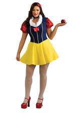 Snow White Halloween Costume Adults Size Snow White Costume Ebay