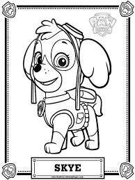 paw patrol coloring pages 5 coloring page