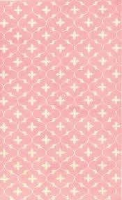 Pink Nursery Rugs Rug Market Kids 12346 Chico Bai Pink White Closeout Area Rug