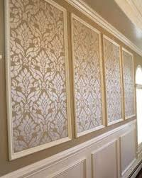 MouldingFramed Wallpaper Wallpaper Panels Diy Wallpaper And - Moulding designs for walls