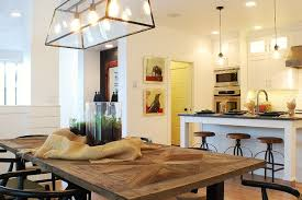 Farmhouse Dining Room Lighting Modern Farmhouse Dining Room Kitchen