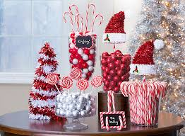 christmas candy buffet ideas easy christmas candy table decorations strikingly party city