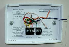 how to wire up this thermostat hvac diy chatroom home