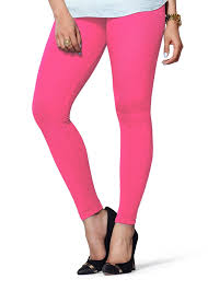 light pink leggings womens lux lyra women s cotton spandex legging light pink homeshop18 com