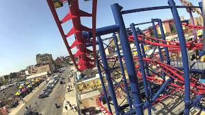 Six Flags Nyc Soarin U0027 Eagle On Ride Pov At Luna Park Coney Island New York