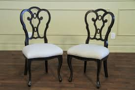 casual dining chairs italian ebonzied casual or transitional dining chairs