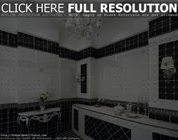 Black And White Bathroom Design Ideas Black And White Bathroom Tile Design Ideas Home Design Ideas