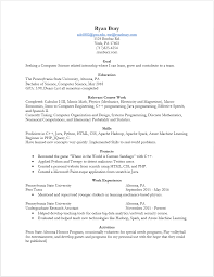 Machine Learning Resume General Resume Png