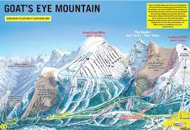 Montana Ski Resorts Map by Trail Map Sunshine Village