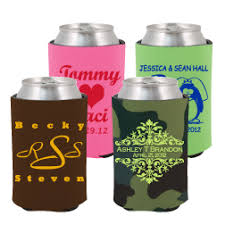 custom wedding koozies buy wedding koozies custom wedding coolers koozie wedding