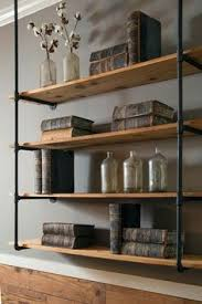 Galvanized Pipe Shelving by Decorating With Shiplap Ideas From Hgtv U0027s Fixer Upper Craftsman