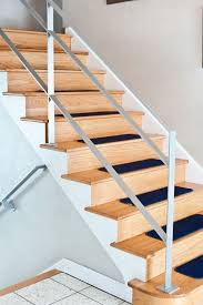Metal Banister Rail Flat Bar Cold Rolled Steel Railing Staircases Pinterest