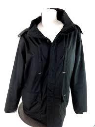eden park team womens black winter coat ski jacket size s ebay