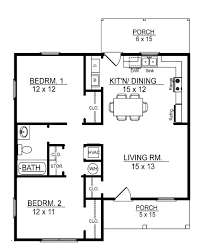 2 bedroom house plans small cottage house plans