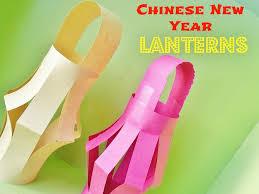 chinese new year kids craft paper lanterns