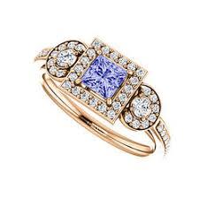 sears engagement rings engagement rings tanzanite sears