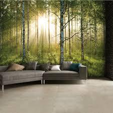 forest green wall mural 315cm x 232cm summer forest green wall mural 315cm x 232cm