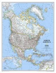North America Map by Map Of Countries Of North America North America U2014 Planetolog Com