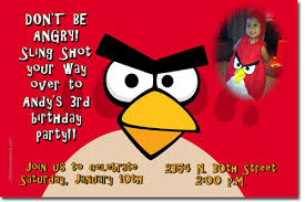 angry birds birthday invitations and party supplies