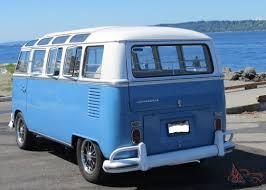 volkswagen microbus 2016 interior vw 21 window deluxe bus walk thru original interior vw birth